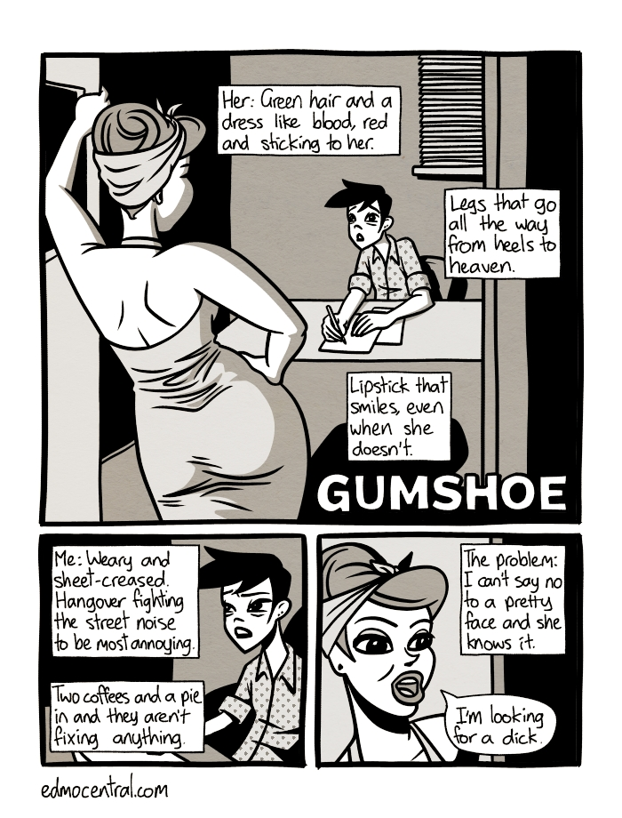Gumshoe Page 1