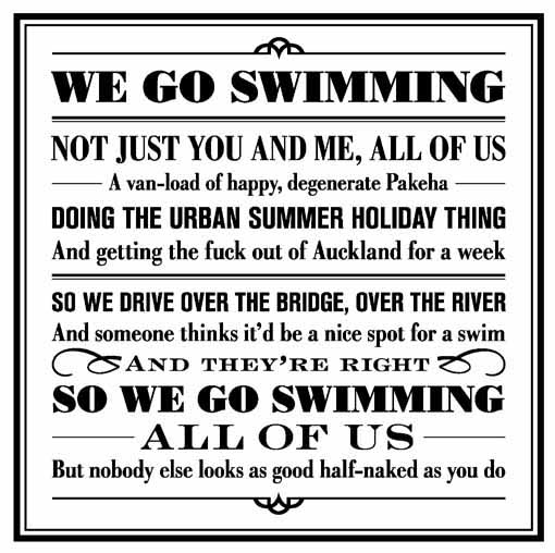We Go Swimming